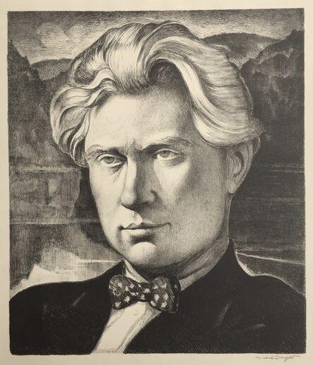 Maybel Dwight, 'Carl Zigrosser', 1930