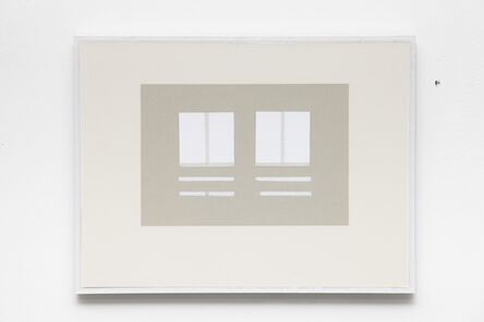 Kristján Gudmundsson, 'Cause and consequence no. 9', 1975