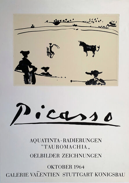 Pablo Picasso, 'Picasso Aquatinta Poster', 1964