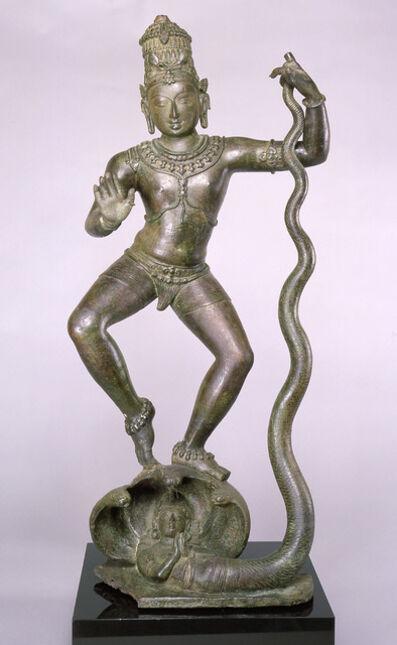 'Krishna Dancing on Kaliya (Kaliyahimarddaka Krishna)', late 10th–early 11th century
