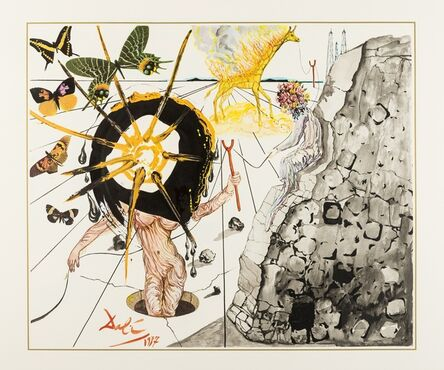 Salvador Dalí, 'Coal Today, Tomorrow, The Day After Tomorrow (M&L 1497-1499)', 1977