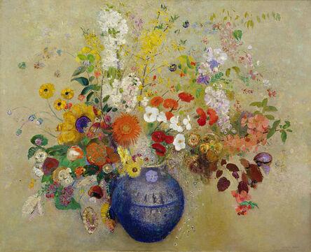 Odilon Redon, 'Fleurs (Flowers)', 1909