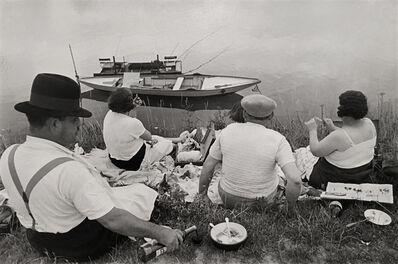 Henri Cartier-Bresson, 'Banks of the Marne ', 1938
