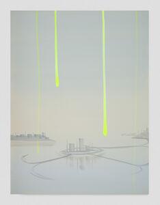 Wanda Koop, 'Note for Dreamline (Satellite City)', 2019