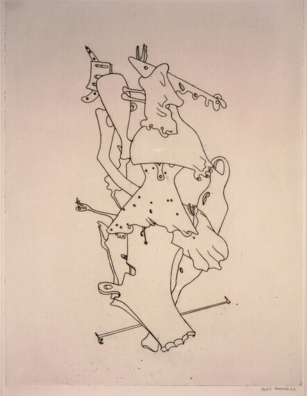 Yves Tanguy, 'Composition from Surrealist Portfolio VVV', 1942