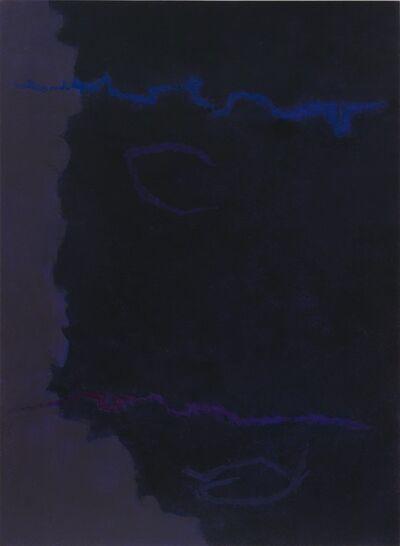 "Theodoros Stamos, 'Infinity Field, Lefkada Series, ""dark""', 1980"