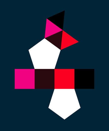 Gary Andrew Clarke, 'Augmented Pentagonal Prism', 2020