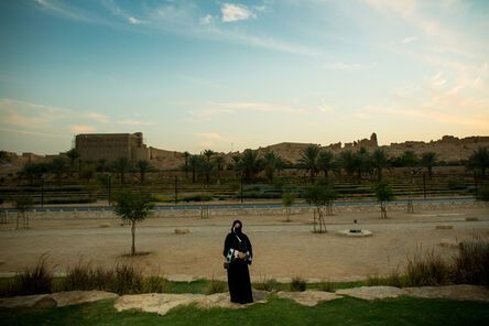 Tasneem Alsultan, 'Aljazi Alhossaini, is a retired university admin running for municipal office. Dariya, Saudi Arabia', 2015