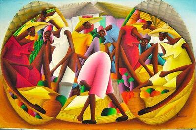 Jacques Louissaint, 'Market Scene', 1980