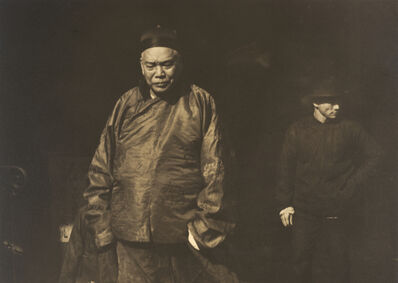 Arnold Genthe, 'Merchant and Body Guard, Old Chinatown, San Francisco', ca. 1895, 1906, printed ca. 1920