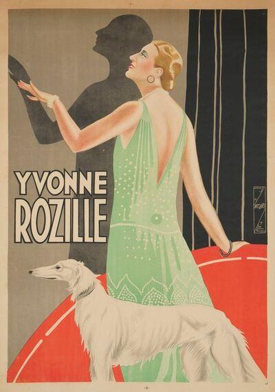 S. Nicolitch, 'YVONNE ROZILLE', 1928