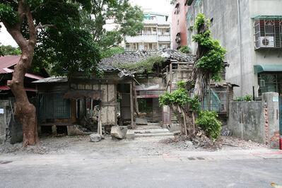 Lara Almarcegui, 'Removing the outside wall, Taipei', 2008
