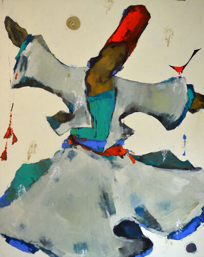 Ammar Alnahhas, 'White Dervish', 2021