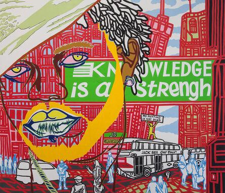 Boris Nzebo, 'The Knowledge', 2015