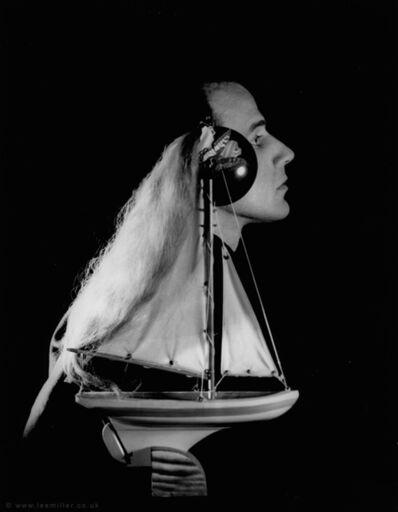 Lee Miller, ' Joseph Cornell, New York studio, New York, USA', 1933