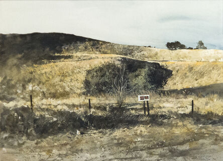 Gregory Sumida, 'Distant Shade, Knights Ferry, CA', 1972