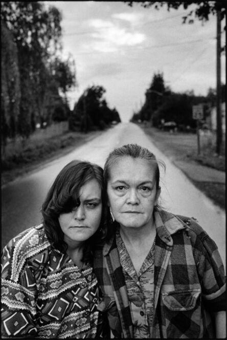 Mary Ellen Mark, 'Tiny and Pat, along the road', 1993