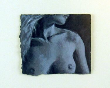 Karin Jurick, 'Female Bust in Gray', ca. 2000