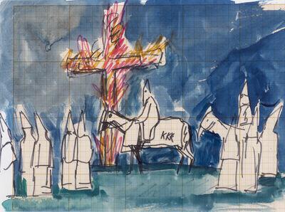 Antonio Berni, 'Untitled (Ku Klux Klan)', ca. 1965