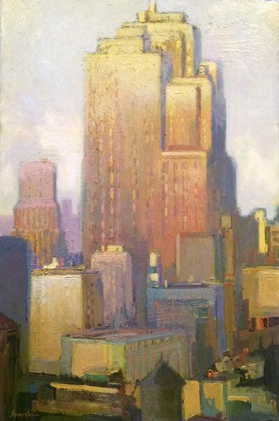 "Francis Livingston, '""Deco Rising""', 2018"