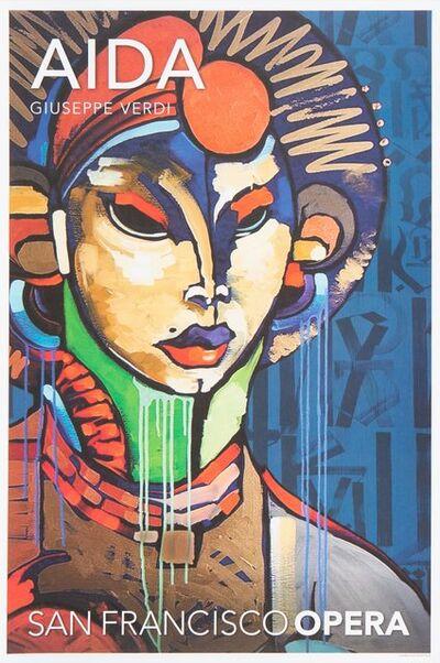 RETNA, 'Aida, poster', 2016