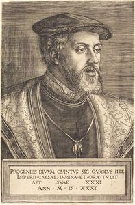 Barthel Beham, 'Emperor Charles V', 1531