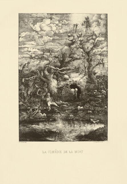 Rodolphe Bresdin, 'LA COMÉDIE DE LA MORT', 1854