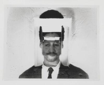 Darrel Ellis (1958-1992), 'Untitled (Self-Portrait after Museum Guard Photograph)', 1990