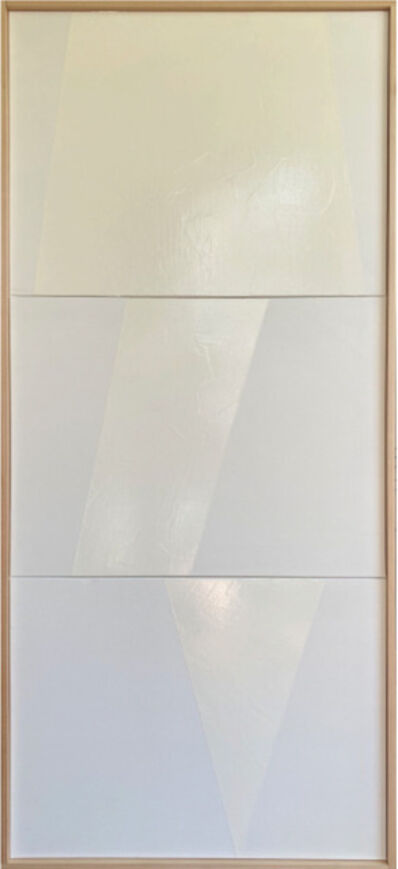 Jason Trotter, 'White Jagged Triptych JET6084', 2021