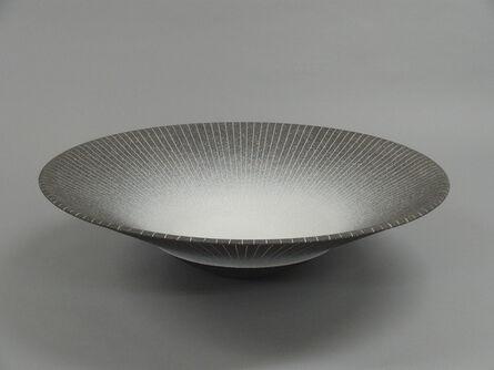 Tsuyoshi Hotate, 'Bowl with Colored Inlay', 2013