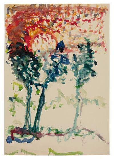 Fritz Ascher, 'Three Trees', ca. undates