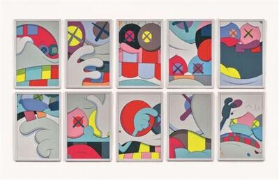 KAWS, 'Blame Game', 2014