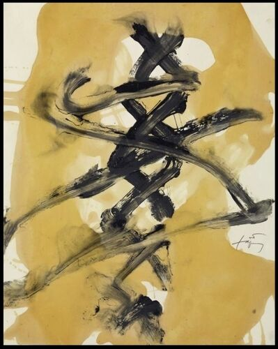 Antoni Tàpies, 'VERNIS II', 1989