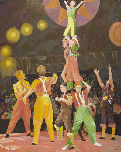 Anne Lyman Powers, '[The Circus]', 2014