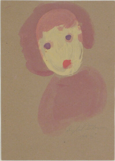 Sybil Gibson, 'Untitled (Girl with Purple Eyes)', 1993