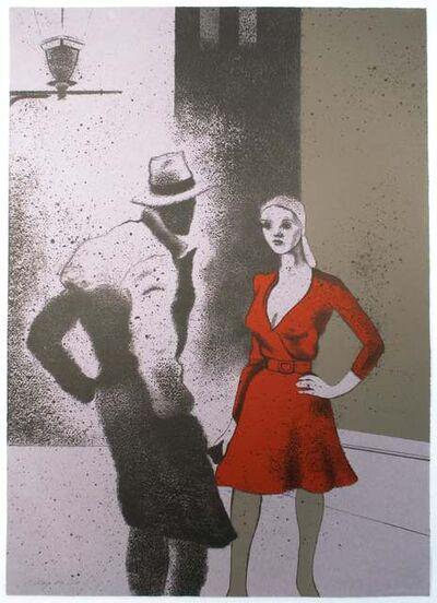 R. B. Kitaj, 'A Life (B)', 1975