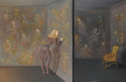 Leonor Fini, 'Une grande curiosité (A Great Curiosity)', 1983