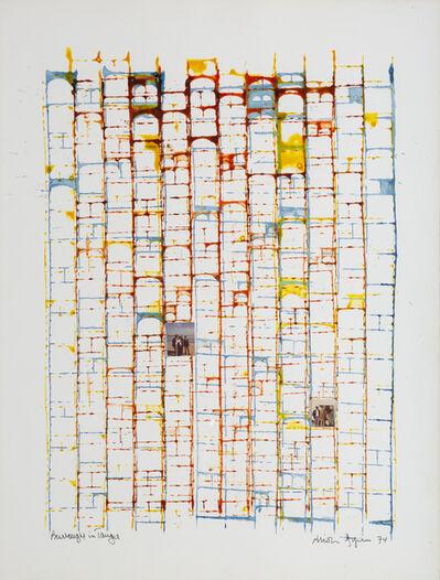 Brion Gysin, 'Burroughs in Tangier  ', 1977