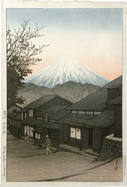 Kawase Hasui, 'Selection of Views of the Tokaido: Yui, Suruga', ca. 1934