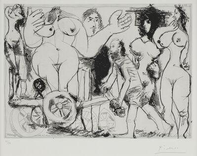 Pablo Picasso, 'Demenagement, ou Charrette Revolutionnaire', 1968