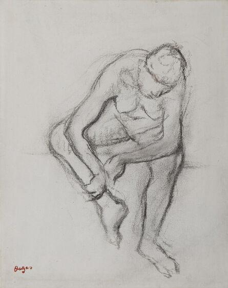 Edgar Degas, 'Femme nue assise', 1834-1917