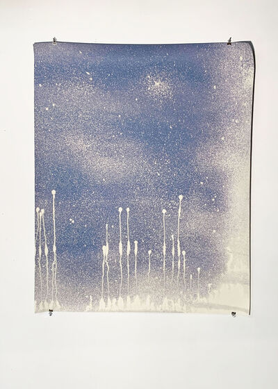 Missy Engelhardt, 'Blue Spray with Drips', 2020