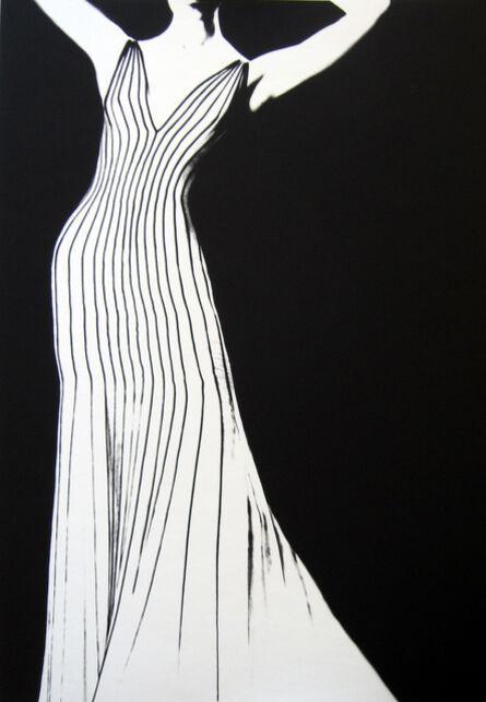 Lillian Bassman, 'Dress by Theirry Mugler, German VOGUE', 1998