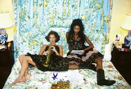 Arthur Elgort, 'Christy Turlington & Naomi Campbell, New Orleans', 1991