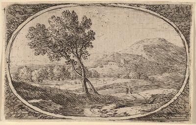 Herman van Swanevelt, 'Two Trees with Crossed Trunks'