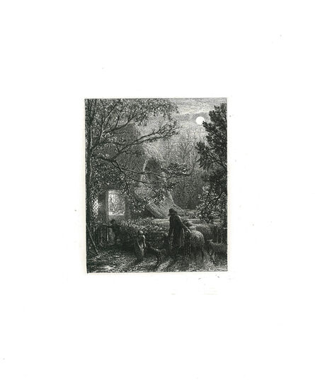 Samuel Palmer, 'Christmas', 1850
