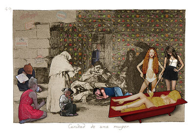 Lluis Barba, 'Caridad de una muger. Goya', 2019