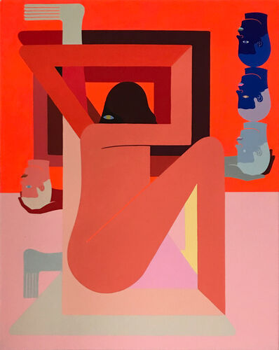 Richard Colman, 'Orange (Three Head)', 2018