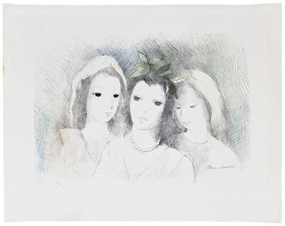 Marie Laurencin, 'Trois Têtes de Femmes', c.1954