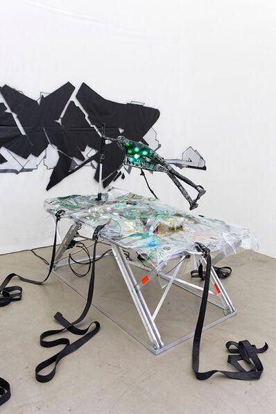 Kerstin Brätsch, 'SPREPPER_SCHNAKEN Table #1', 2015
